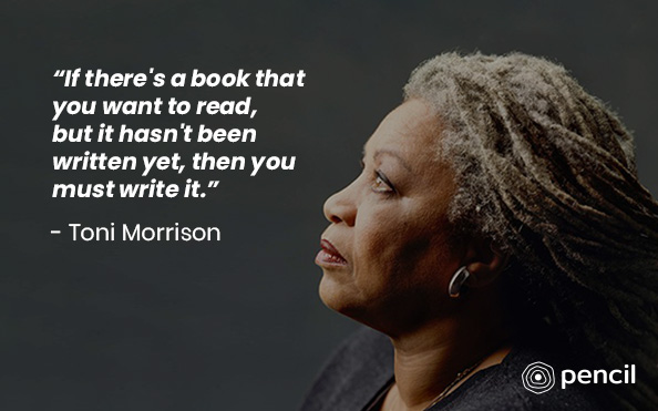 Writing Tips From Toni Morrison