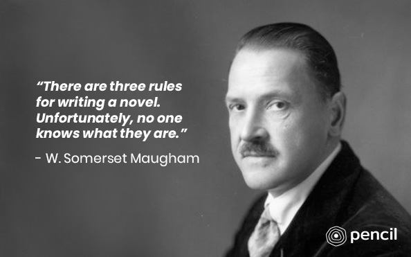 Writing Tips From W.S Maugham