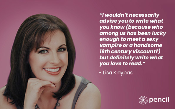 Advice From Lisa Kleypas