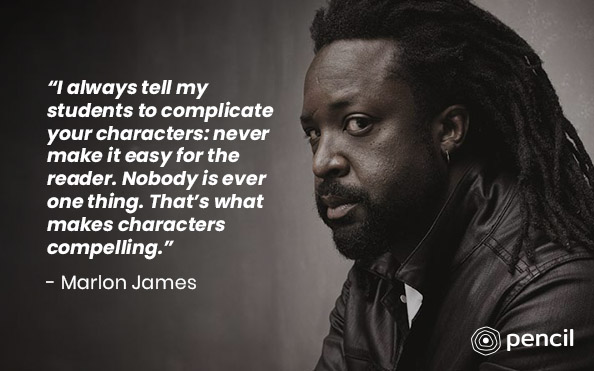 Writing Advice From Marlon James