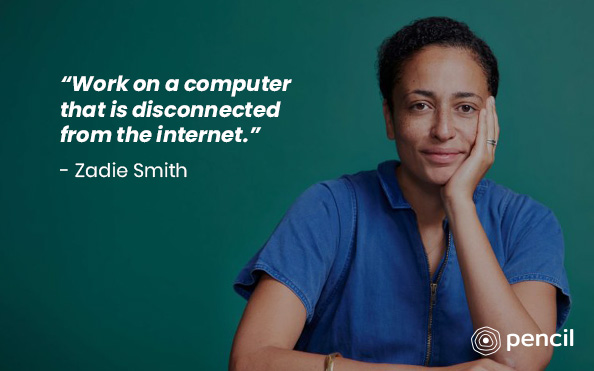 Writing Advice From Zadie Smith