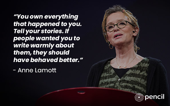 Writing Tips From Anne Lamott