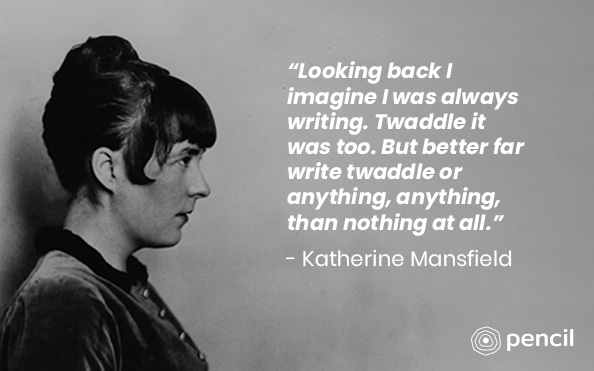 Writing Tips From Katherine Mansfield