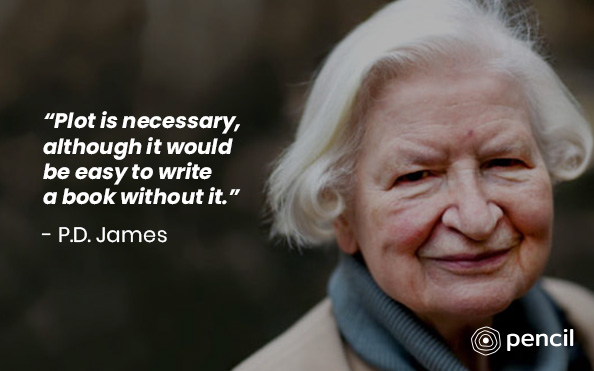 Writing Tips From P.D James