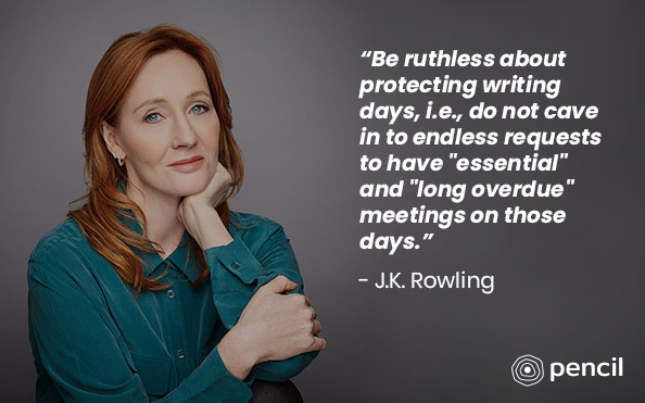 Writing Tips From J.K Rowling
