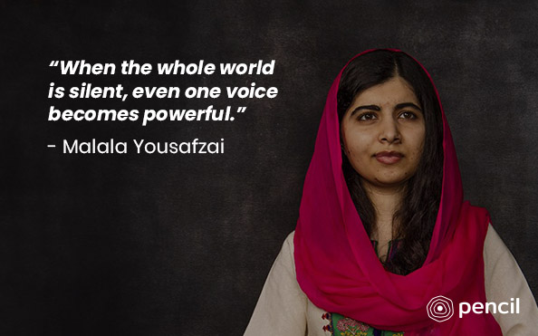 Advice From Malala Yousafzai