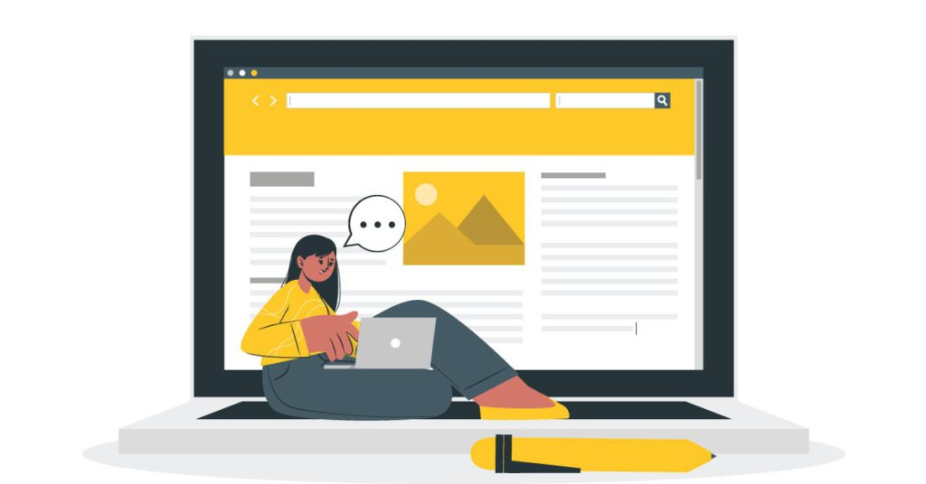 making an author website