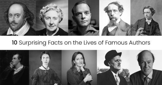 10 Surprising Facts on the Lives of Famous Authors
